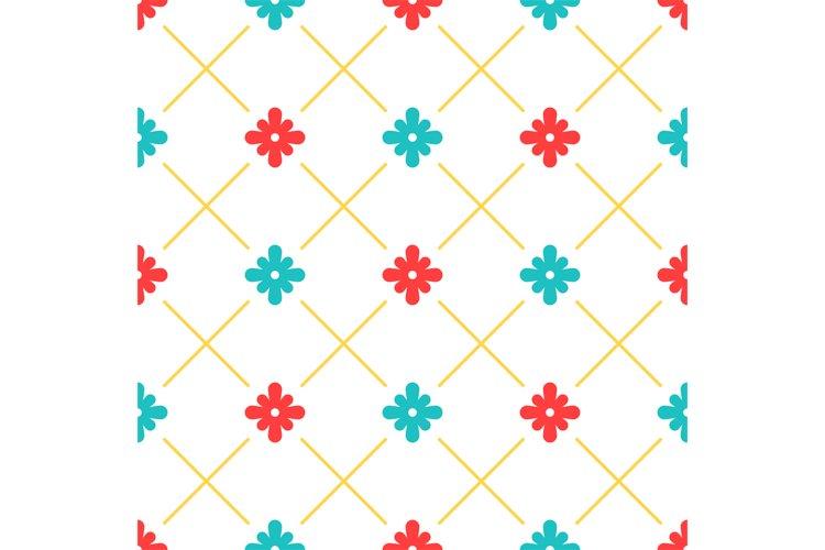 White turkish ornamental ceramic tile example image 1