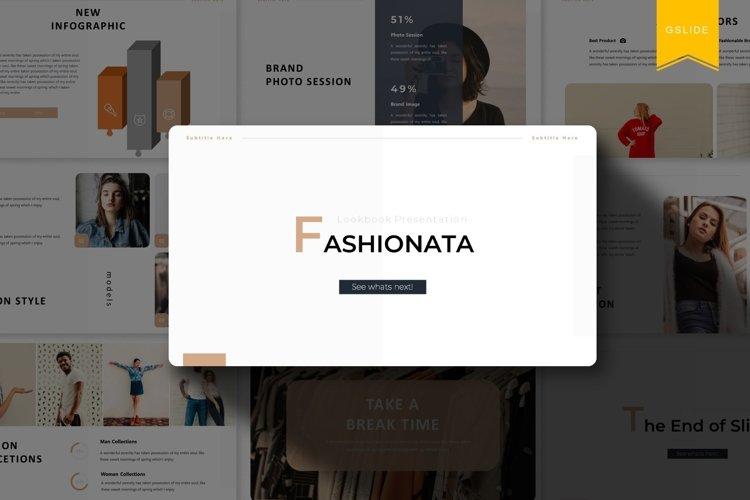 Fashionata | Powerpoint, Keynote, GoogleSlides Template example image 1