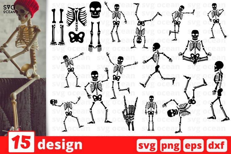 Skeleton SVG Bundle | Skeleton cut file | Skull cricut