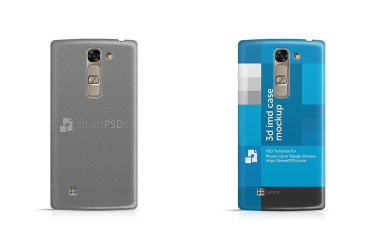 LG G4c 3d IMD Mobile Case Design Mockup 2015 example image 1