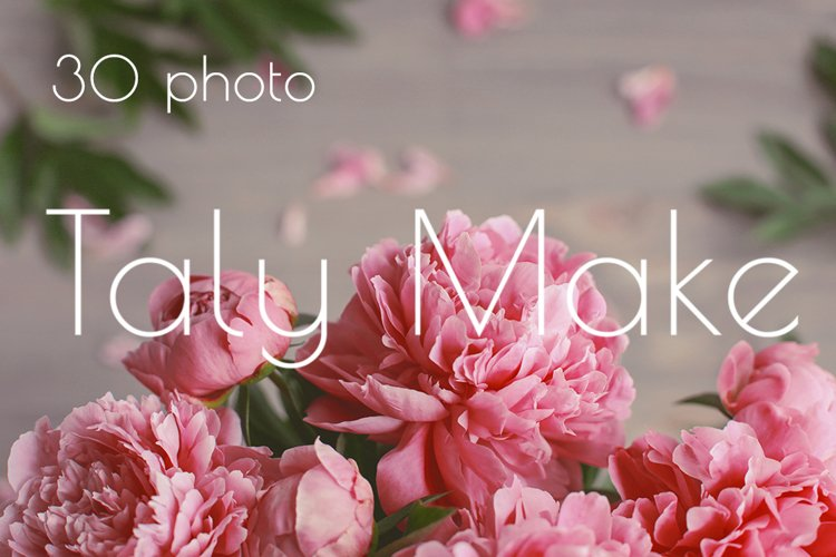 Pink peony flowers vintage. Mothers day.