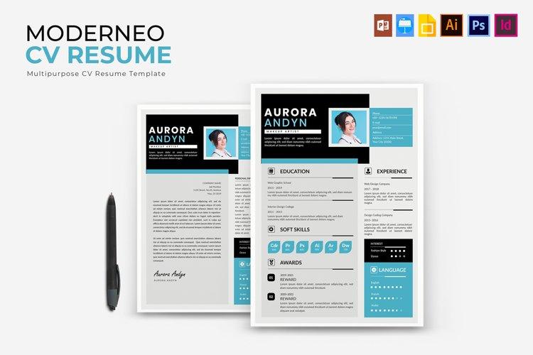 Moderneo | CV & Resume example image 1