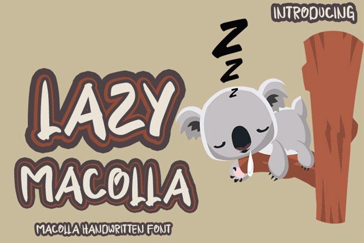 Lazy Macolla example image 1