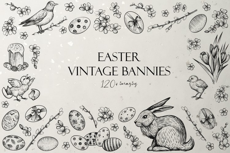 Easter Vintage Bannies
