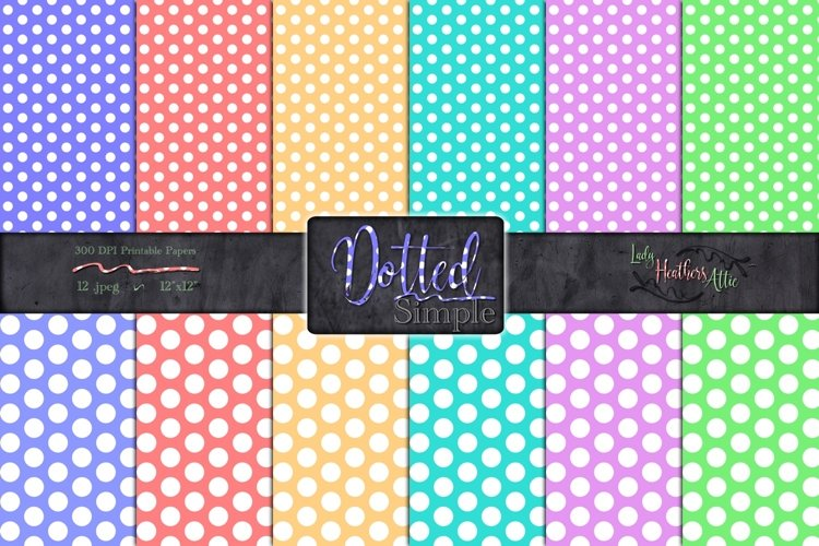 Simply Dots 12 Piece Set