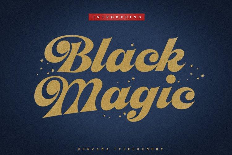 Black Magic example image 1