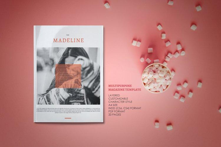 Madeline - Indesign Magazine Template