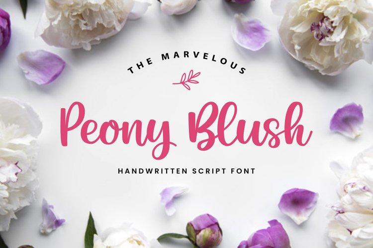 Peony Blush