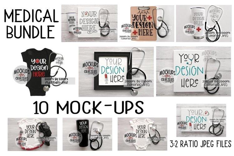 MEDICAL MOCK-UPS BUNDLE #1 - TEN MOCK-UPS