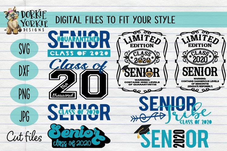 UPDATED BUNDLE Senior CLASS of 2020 - grad, graduation example image 1
