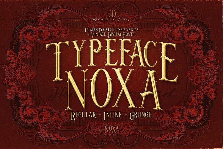 Noxa - Display Font example image 1