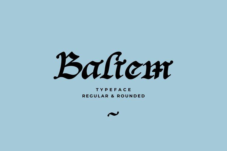 Baliem Typeface example image 1