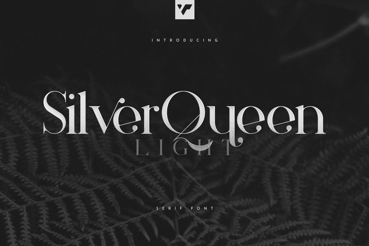 Silver Queen Serif Light example image 1