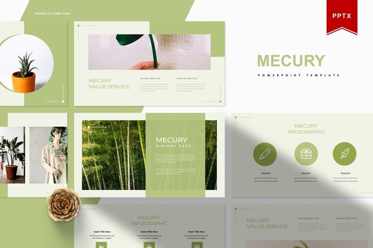 Mercury | Powerpoint Template example image 1