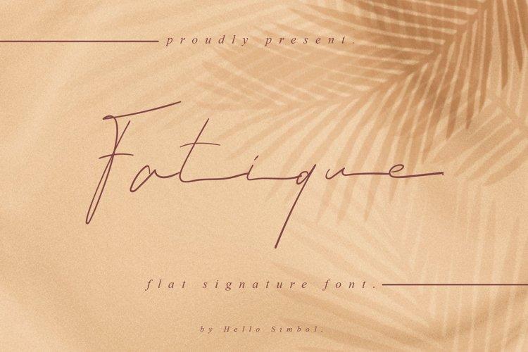 Fatique