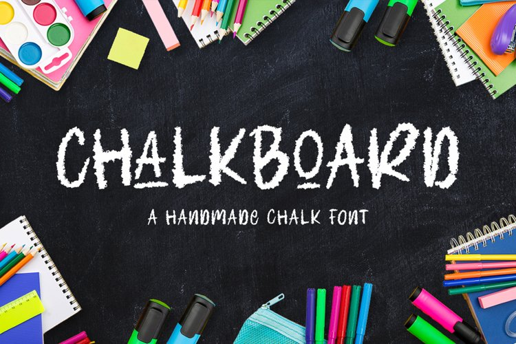 Chalk Font example image 1