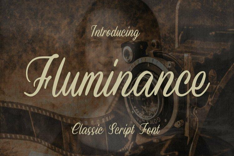 Web Font Fluminance Font example image 1