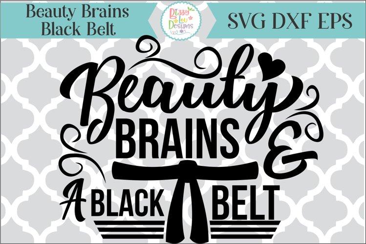 Beauty Brains and a Blackbelt SVG