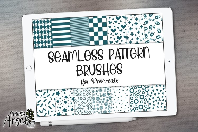 Procreate Seamless Pattern Brushes