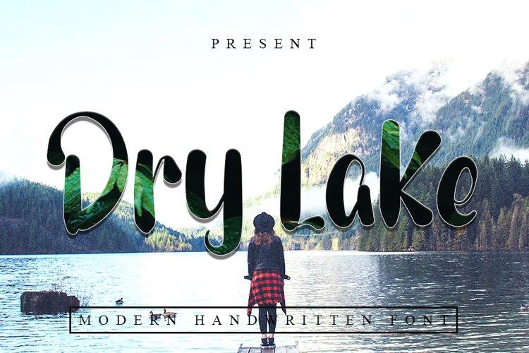 Dry Lake - Modern Typeface Font example image 1