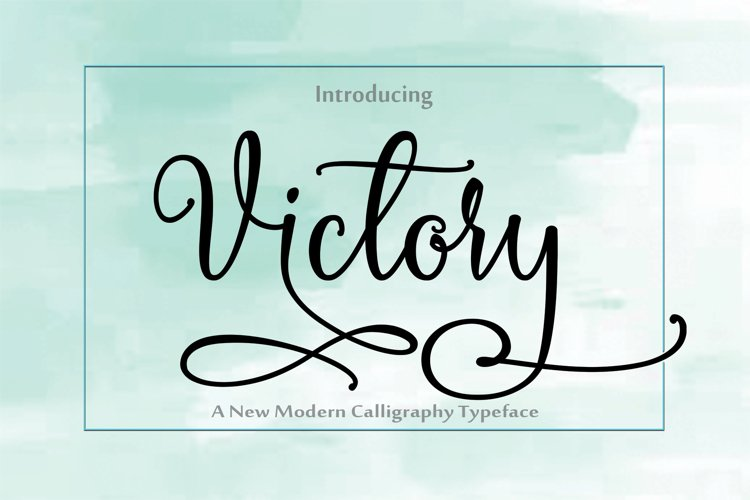 Victory example image 1