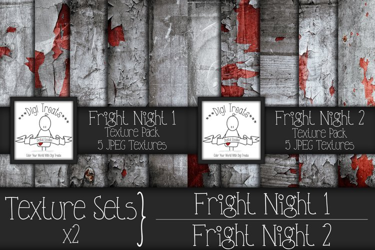 Texture Sets x2. Fright Night 1 and Fright Night 2. example image 1