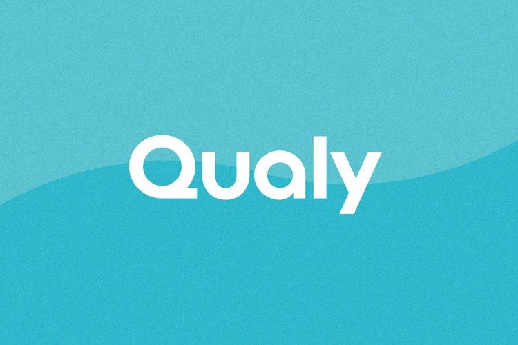 Qualy Logo Font | Logo & Branding example image 1