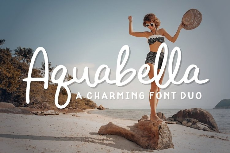 Aquabella Font Duo example image 1