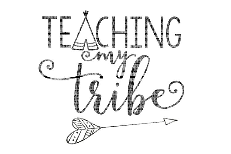 Teaching My Tribe School SVG example