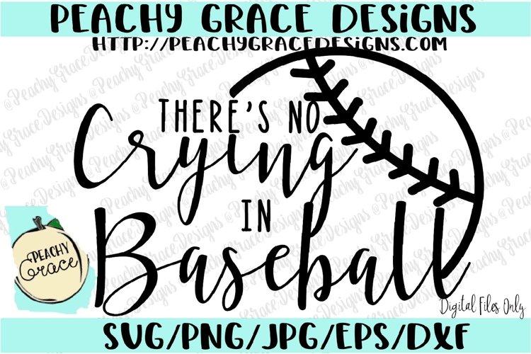 No Crying in Baseball SVG