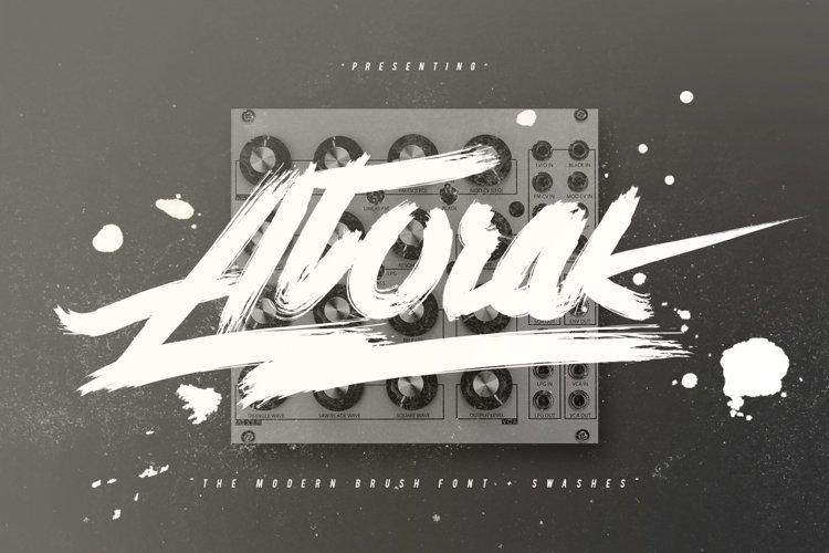 Atorak Typeface
