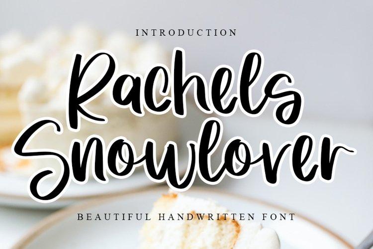 Rachels Snowlover - Beautiful Handwritten Font example image 1