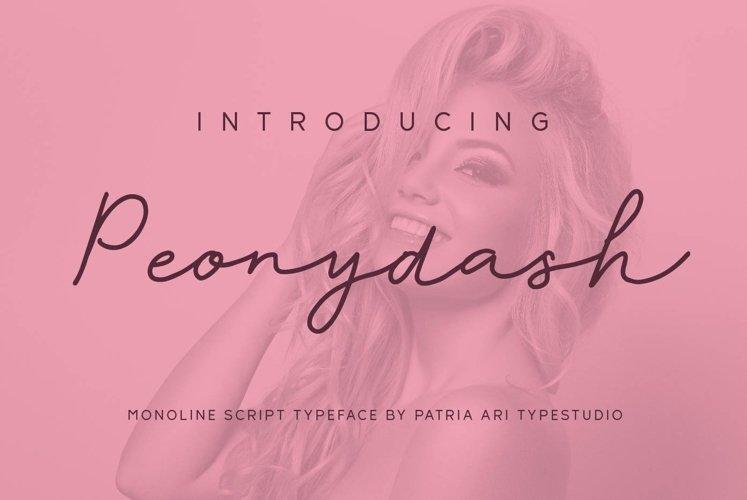 Peonydash example image 1