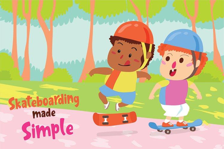 Skate - Vector Illustration example image 1