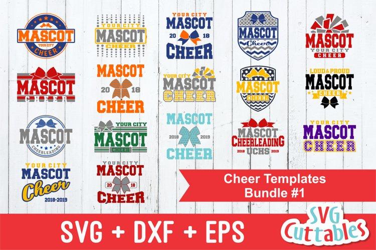 Cheer SVG Bundle #1| SVG Cut Files | Shirt Design