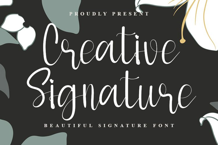 Creative Signature example image 1