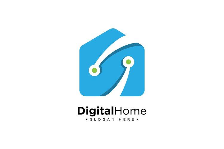 Smart Home Logo example image 1