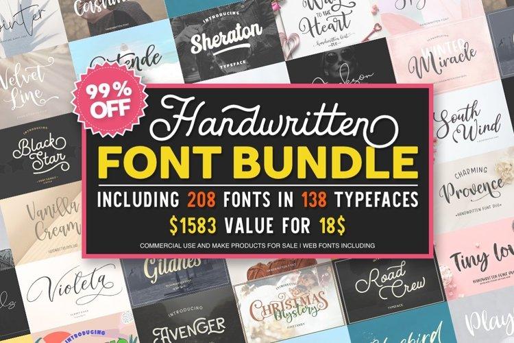 Font Bundle example image 1
