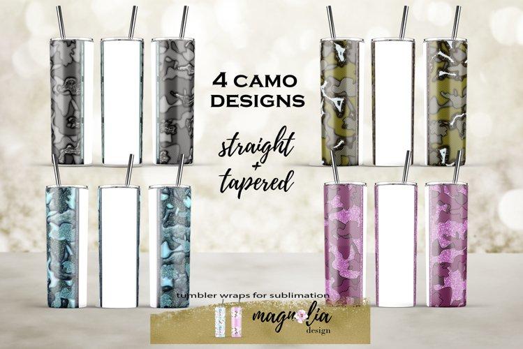 20 oz tumbler bundle Camouflage tumbler background bundle example image 1