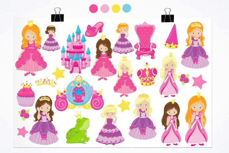 Fairytale Princess  graphics and illustrations - Free Design of The Week Design0