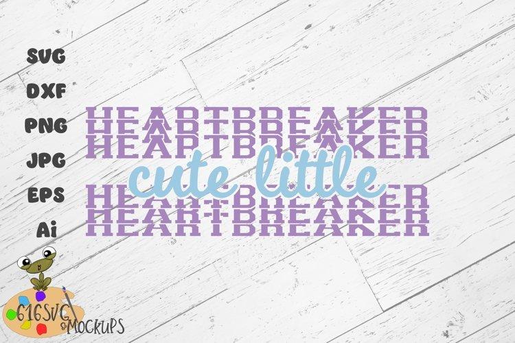 Cute Little Heartbreaker SVG