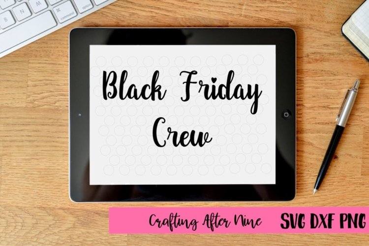 Black Friday Crew Svg, Black Friday Svg, Shopping Svg, Sale Shirt example image 1