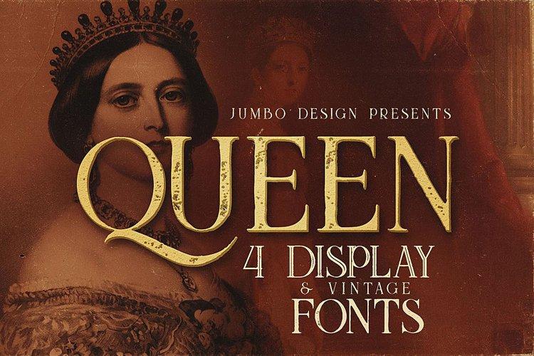 Queen - Display Font example image 1