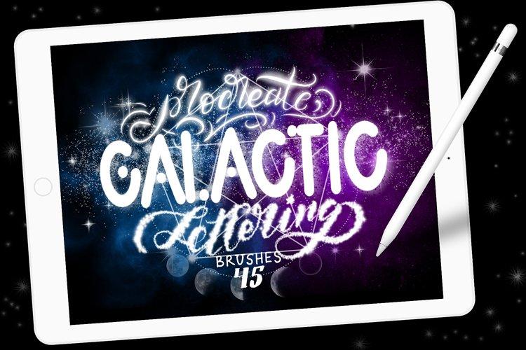 Procreate Galactic Lettering Bundle
