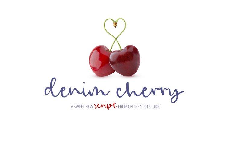 Denim Cherry example image 1