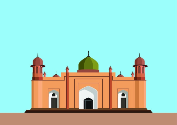 Lalbagh Fort Mosque