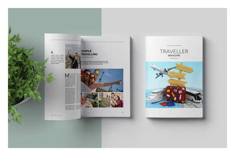 Traveller Magazine example image 1