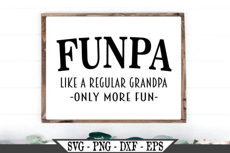 Funpa Funny Grandpa SVG example image 1