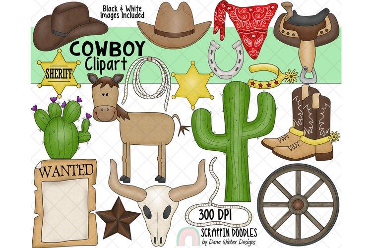 Cowboy ClipArt - Western ClipArt - Wild West Clipart