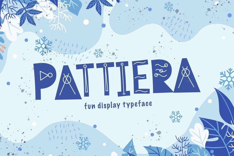 Web Font Pattiera example image 1